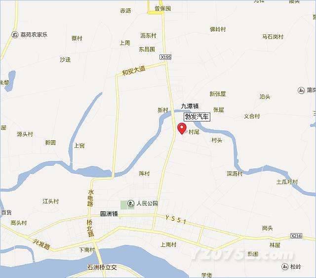 4月27日 郑州日产汽车首家4s店落户园洲,位于园洲镇福园路,高清图片